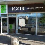 Ingnia-Enseigne - Igor Artisan Coiffeur - Enseigne Lumineuse Devanture