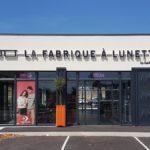 Insignia-Enseigne - La Fabrique à Lunette à Bourg-st-Andéol - Lettres rétro-éclairées - Devanture