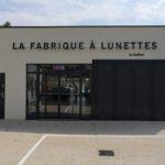 Insignia-Enseigne - La Fabrique à Lunette à Bourg-st-Andéol - Lettres rétro-éclairées - Façade Arrière