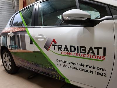 Insignia-Enseigne-marquage-vehicule-cote-passager-tradibati